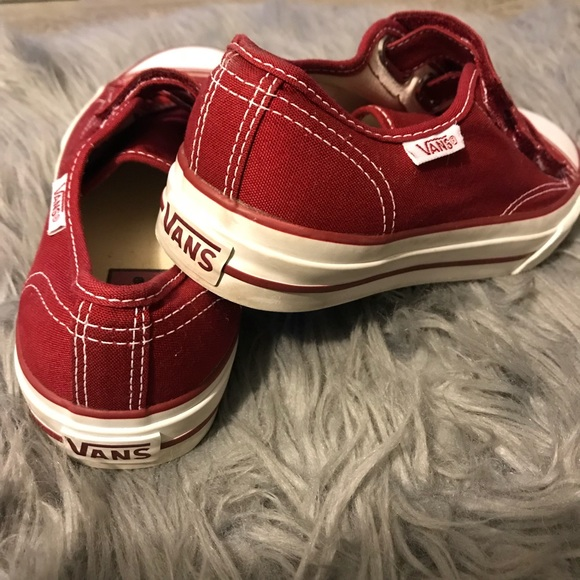 Vans Canvas Skate Strap Shoe Mens 55